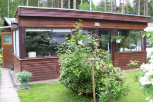 Holzhaus  -  wohnen wo andere Urlaub machen !!!