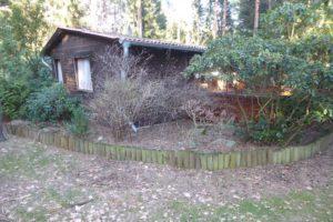 O a s e  im Grünen  -  Holzhaus auf 3.647 m² Waldgrundstück  -Eigentum !!-